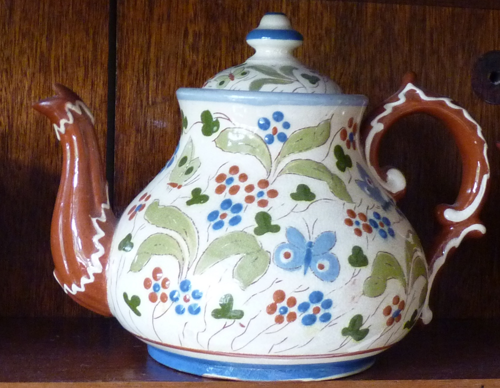 Aller Vale Teapot decorated in the H1 pattern