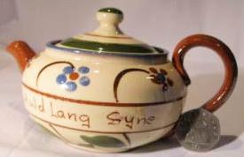 Watcombe Pottery small Teapot