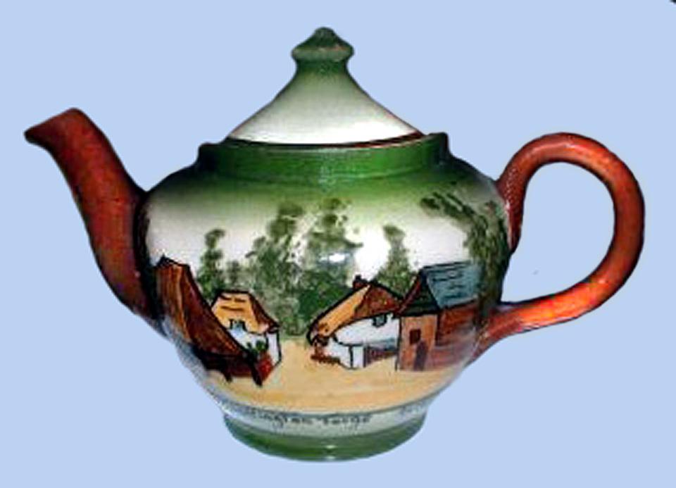 Longpark Pottery teapot-11