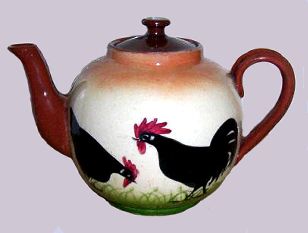 Royal Torquay Pottery teapot