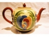Aller Vale Teapot with lop-sided Scandy pattern
