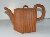Aller Vale Teapot, rare Terracotta example, with scarce 'Philips' mark