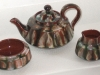 Aller Vale Teapot with 'huaco marble' pattern