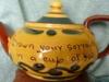 Aller Vale Teapot in Kerswell Daisy, I4, pattern