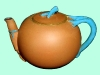 Watcombe Pottery teapot 4