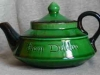 Watcombe Teapot marked 'Dublin'