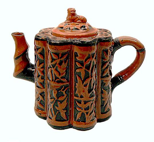 Watcombe Pottery teapot 1