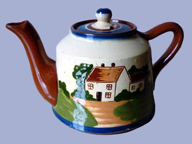 Watcombe Pottery teapot 10