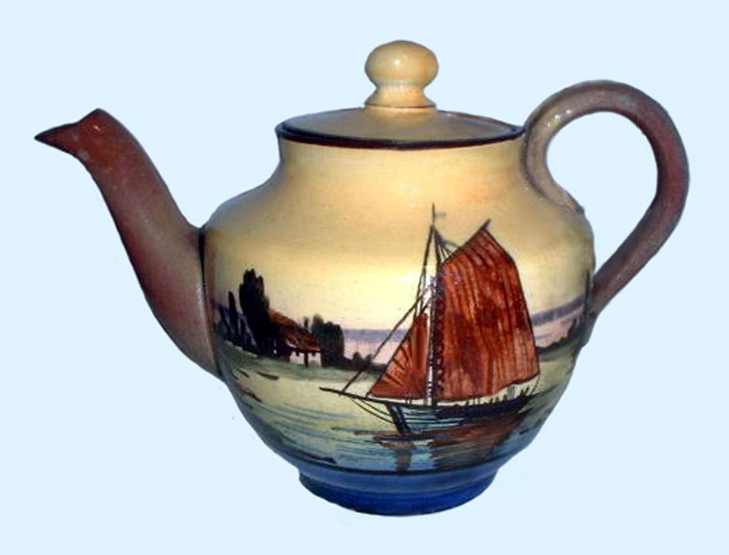 Watcombe Pottery teapot 11