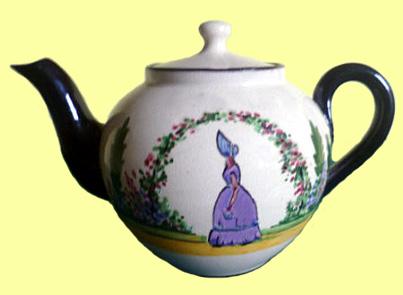 Watcombe Pottery teapot 12