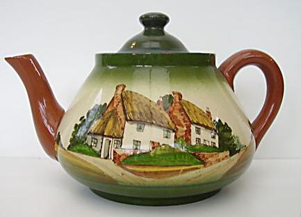 Watcombe Pottery teapot 13