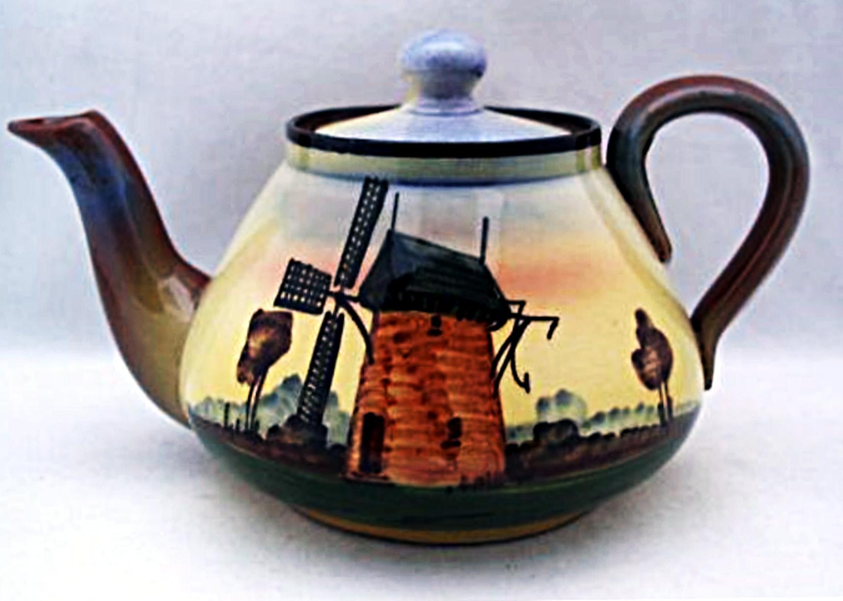 Watcombe Pottery teapot 14
