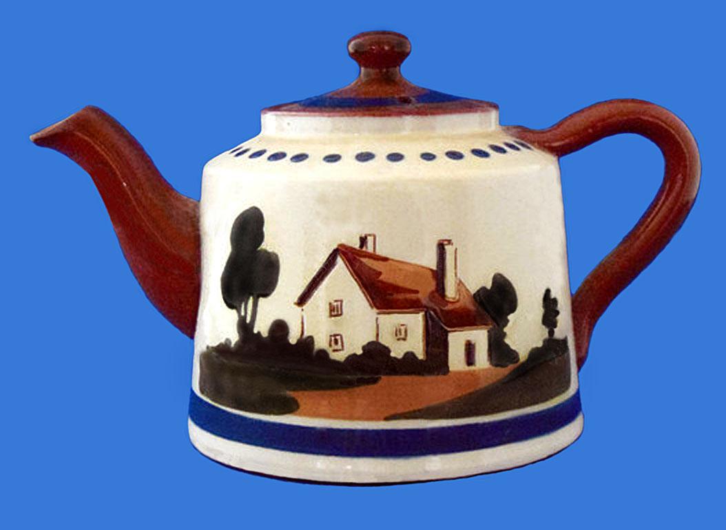 Watcombe Pottery teapot 15