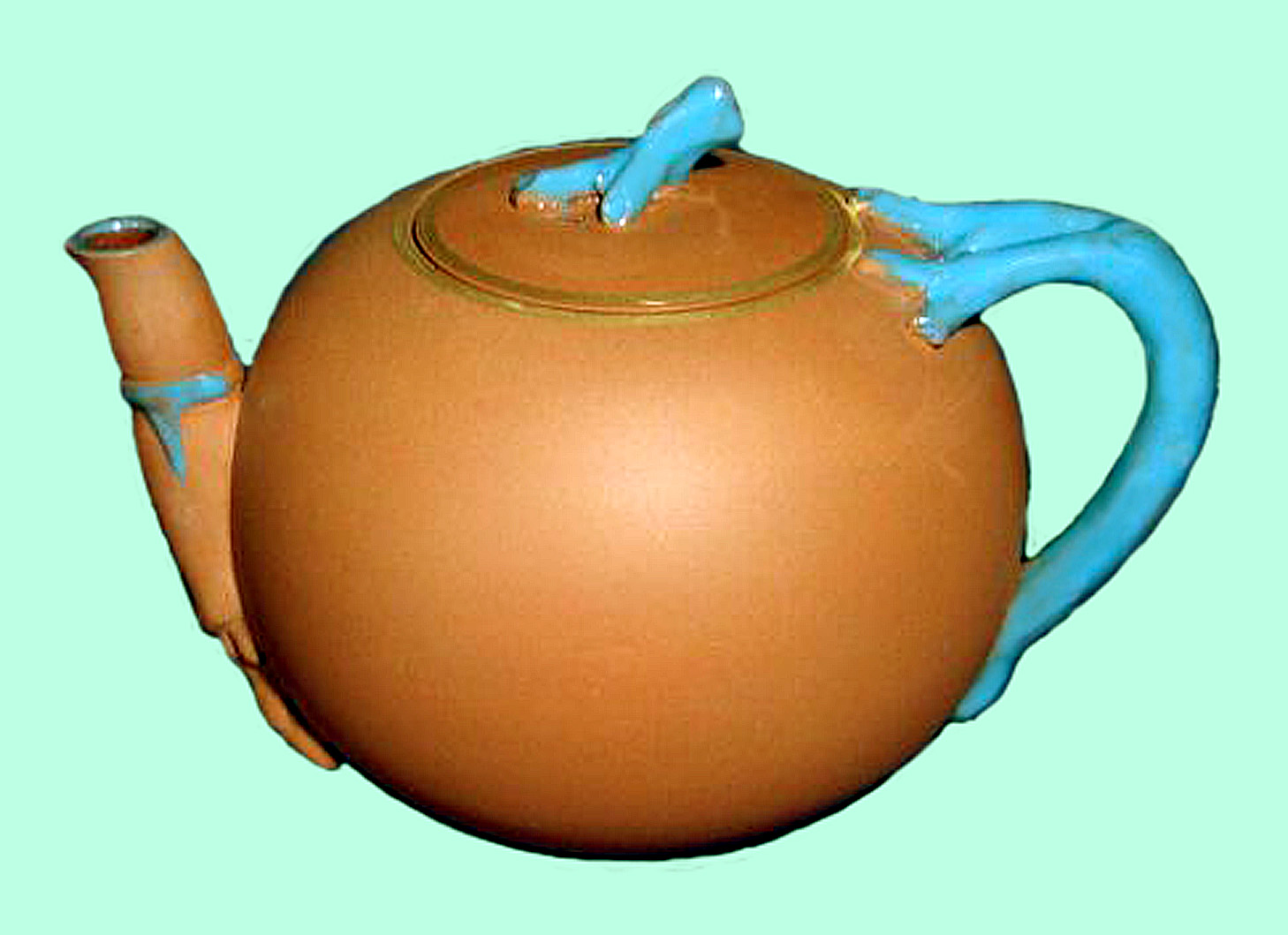 Watcombe Pottery teapot 4
