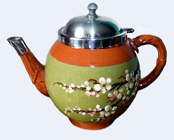 Watcombe Pottery teapot 5