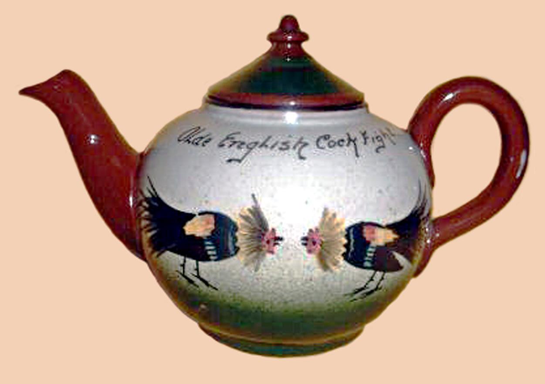Watcombe Pottery teapot 6