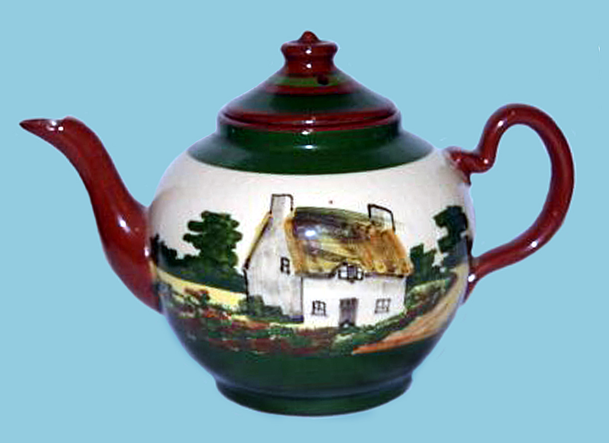 Watcombe Pottery teapot 8