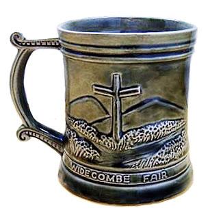 Devonway Pottery souvenir mug
