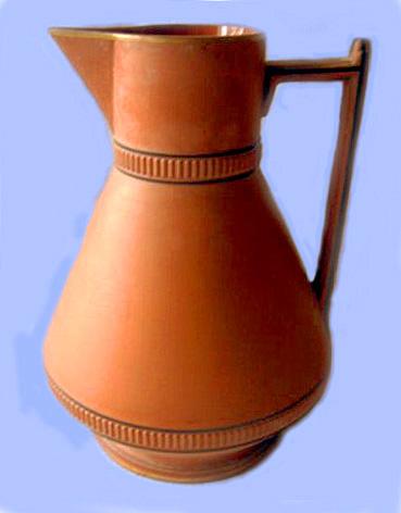 Torquay Terracotta Company. A contemporary shaped jug.
