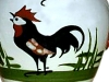 Royal Torquay Pottery cockerel jug