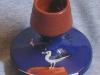 Torquay Pottery Matchholder