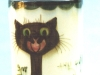 Tor Vale Pottery Vase with Cat saying 'How you Frightened Me'