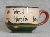 Tor Vale Pottery Cup and Saucer Motto