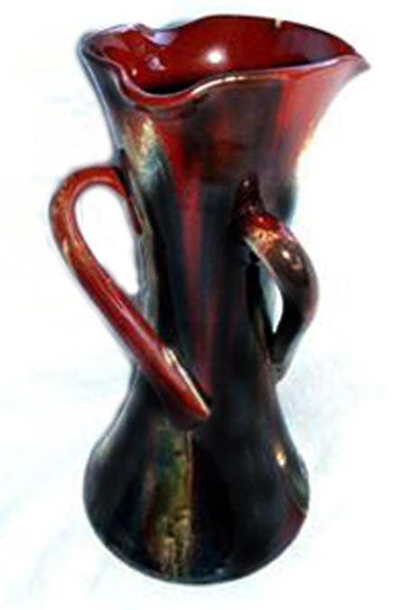 Tor Vale marbled vase