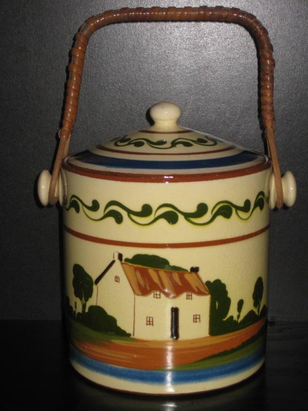 Watcombe Pottery Biscuit Barrel