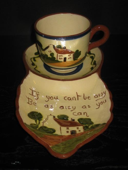 Watcombe Pottery \'Tennis Set\'