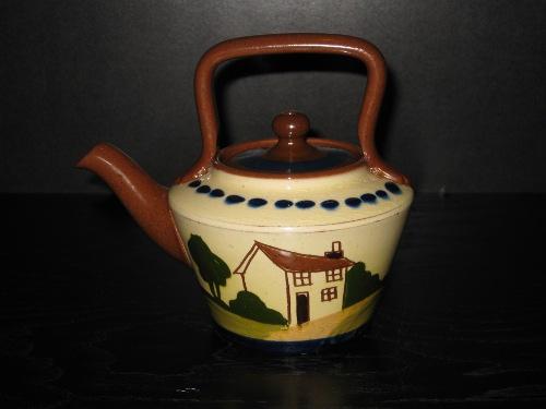 Watcombe Pottery Kettle