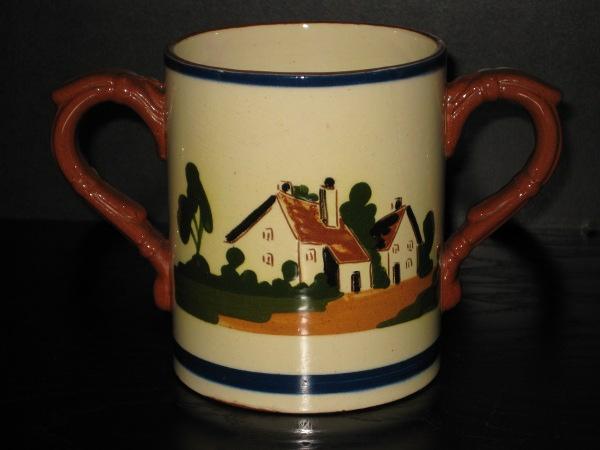 Watcombe Pottery Beer Mug