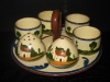 Watcombe Pottery Cruet Set