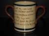 Watcombe Pottery Beer Mug - Farming Motto