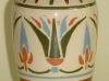 Watcombe Vase with egyptian style pattern