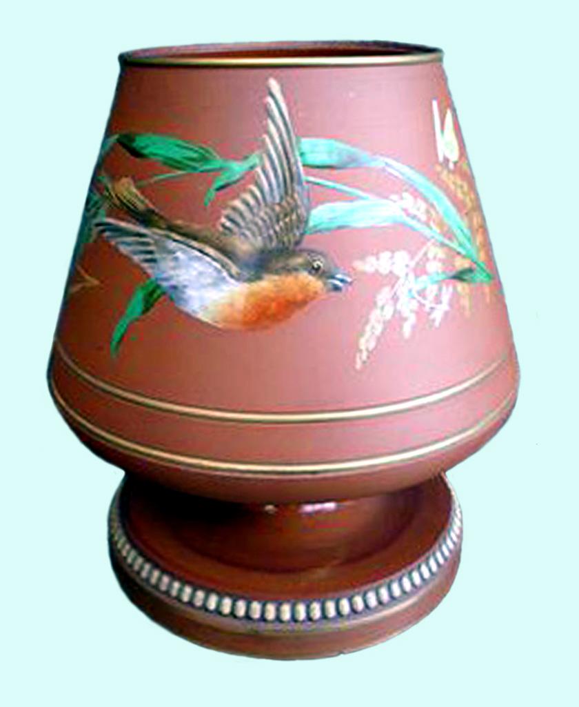 Watcombe terracota goblet