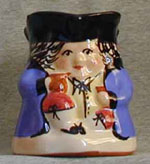 "Bovey Tracey Pottery Toby jug 4"" high"