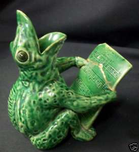 Dunmore Pottery Frog very similar to Aller Vale
